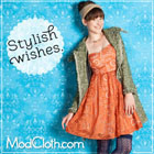 Visit Modcloth for fancy frills for the holidays